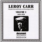 Leroy Carr Leroy Carr Vol.1 (1928-1929)