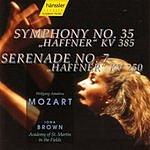 Iona Brown Symphony No.35, K.385 & Serenade No.7, K.250 'Haffner'