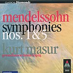 Kurt Masur Classical Diamonds: Symphonies Nos.1 & 5