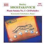Konstantin Scherbakov Piano Sonata No.1/24 Preludes
