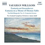James Judd Fantasias/Norfolk Rhapsody/In The Fen Country/Concerto Grosso