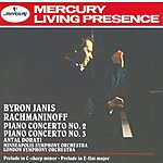 Byron Janis Piano Concertos Nos.2 & 3; Prelude in E Flat Etc.