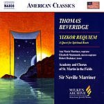 Neville Marriner Yizkor Requiem: A Quest For Spiritual Roots