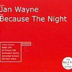 Jan Wayne Because The Night (5 Track Maxi-Single)