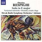 Slovak Radio Symphony Orchestra Suite in E Major/Variazioni Sinfoniche/Preludio, Corale E Fuga