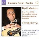 David Martinez Guitar Recital