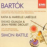 Sir Simon Rattle Concerto For Two Pianos, Percussion & Orchestra/Sonata For Two Pianos & Percussion