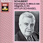 Artur Schnabel Impromptus D.899 & D.935/Allegretto D.915