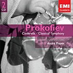 André Previn Cinderella, Ballet Op.87/Symphony No.1 in D, Op.25