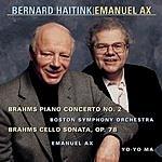 Emanuel Ax Concerto No.2, Op.83/Sonata in D, Op.78