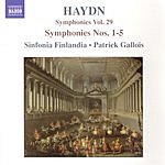 Patrick Gallois Symphonies, Vol.29: Symphonies Nos.1-5