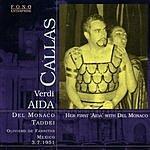 Maria Callas Aida: Opera In Four Acts