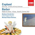 Samuel Barber Barbara Hendricks Sings Copland & Barber
