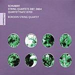 Borodin String Quartets Rosamunde D.804, D.87 & Quartettsatz D.703