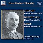 Walter Gieseking Concerto Recordings, Vol.2