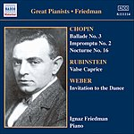 Ignaz Friedman Complete Recordings, Vol.5: English Columbia Recordings (1933-1936)