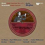 Felix Mendelssohn EMI Classics Historical: Violin Concertos K218 & 219/Violin Concerto