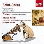 Georges Prêtre Symphony No.3 'Organ'/Carnival Of The Animals/Les Animaux Modèles