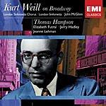 Thomas Hampson Kurt Weil On Broadway