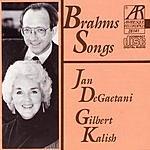 Jan DeGaetani Brahms Songs