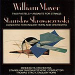 Stanislaw Skrowaczewski Two Pastels/Andante For Strings/Concerto For English Horn And Orchestra