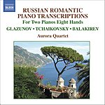 Aurora Russian Romantic Piano Transcriptions For 2 Pianos, 8 Hands