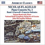 Tatjana Rankovich Piano Concerto No.1/Dante's Farewell/Concerto Sinfonico