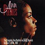 Ann Peebles The Complete Ann Peebles On Hi Records, Vol. 2: 1974-1981