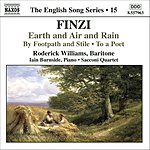Roderick Williams Earth And Air And Rain/To A Poet/By Footpath And Stile