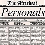 The Afterbeat Personals