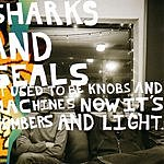 Sharks And Seals It Used To Be Knobs And Machines Now It's Numbers And Light
