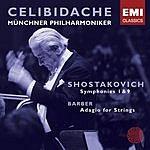 Sergiu Celibidache Symphony No.9 in E Flat Major, Op.70/Symphony No.1 in F Minor, Op.100/Adagio For Strings, Op.11