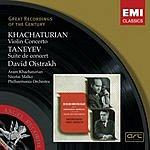 David Oistrakh Violin Concerto/Suite De Concert, Op.28