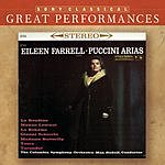 Eileen Farrell Great Performances: Puccini Arias And Others In The Great Tradition