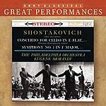 Mstislav Rostropovich Cello Concerto No.1 in E Flat Major, Op.107/Symphony No.1 in F Minor, Op.10 (Remastered)