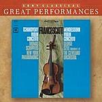 Zino Francescatti Great Performances: Violin Concertos