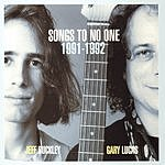 Jeff Buckley Songs To No One, 1991-1992