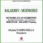 Michele Campanella Pictures At An Exhibition/Ricordi D'infanzia/La Cucitrice/Berceuse/Islamey Fantasy