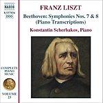 Konstantin Scherbakov Beethoven Symphonies Nos. 7 & 8 (Piano Transcriptions)