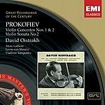 David Oistrakh Violin Concertos Nos. 1 & 2/Violin Sonata No.2