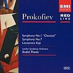 André Previn Symphonies Nos. 1 & 7/Lieutenant Kijé Suite, Op.60