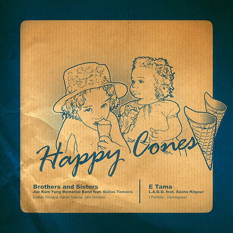Cover Art: Happy Cones (Brothers & Sisters/E Tama)
