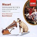 David Oistrakh Violin Concertos Nos. 4 & 5/Rondo Concertante/Rondo/Adagio