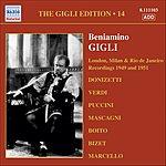 Beniamino Gigli London, Milan And Rio De Janeiro Recordings (1949, 1951)
