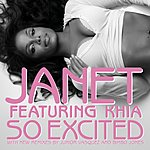 Janet Jackson So Excited (Remixes) (7-Track Maxi-Single)