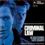 Jerry Goldsmith Criminal Law: Original Motion Picture Soundtrack