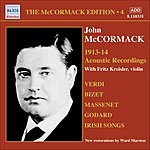 John McCormack McCormack Edition, Vol.4: The Acoustic Recordings (1913-1914)