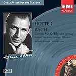 Hans Hotter Cantata BWV 82 'Ich Habe Genug'/4 Ernste Gesänge & 10 Lieder