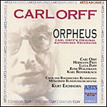 Carl Orff Orpheus (Opera In Three Acts)