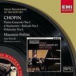 Maurizio Pollini Piano Concerto No.1 in E Minor, Op.11/Four Nocturnes/Ballade No.1 in G Minor, Op.23/Polonaise No.6 in A Flat Major, Op.53